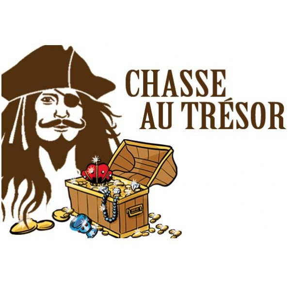 Animations spectacles chasse au tr sor - Coffre chasse au tresor ...