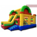 Gonflable bouncer slide